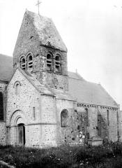Eglise - Façade nord et clocher