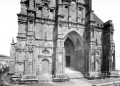 Eglise de Rembercourt - Façade ouest : partie inférieure