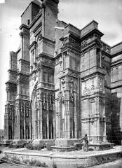 Eglise de Rembercourt - Façade ouest en perspective