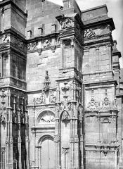 Eglise de Rembercourt - Façade ouest : contreforts sud