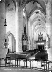 Eglise de Rembercourt - Vue intérieure de la nef, vers le sud-ouest