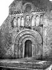 Eglise Notre-Dame de l'Assomption - Portail de la façade ouest