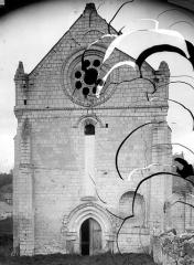 Ancienne église Notre-Dame - Façade ouest