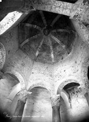 Baptistère dit le Panthéon (chapelle circulaire) - Vue intérieure de la rotonde : coupole