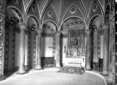 Chapelle Saint-Maxime - Vue intérieure du choeur