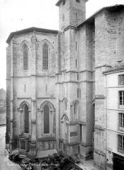 Eglise Saint-Barnard, ancienne collégiale - Abside, côté nord