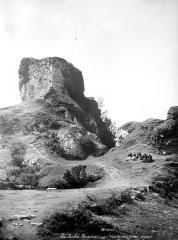 Restes du château - Donjon