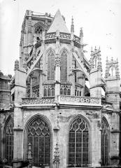 Ancienne église Saint-Laurent - Chevet