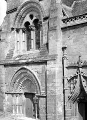 Eglise Saint-Pierre - Façade ouest : partie centrale