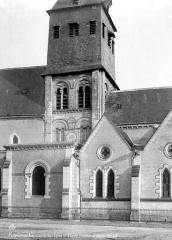 Eglise Notre-Dame, puis Saint-Etienne de Romorantin - Façade sud : Transept et clocher