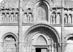 Eglise Saint-André - Façade ouest : Partie centrale
