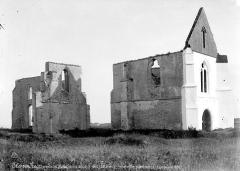 Ancienne abbaye Notre-Dame de Ré, dite des Châteliers - Ensemble nord-ouest