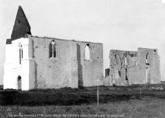 Ancienne abbaye Notre-Dame de Ré, dite des Châteliers - Ensemble sud-ouest
