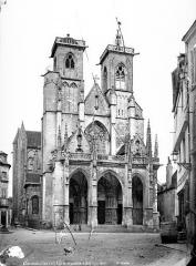 Eglise (collégiale) Notre-Dame - Ensemble ouest