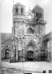 Ancienne église Saint-Marc - Façade ouest