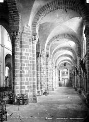 Ancienne église Saint-Marc - Vue intérieure du bas-côté nord, vers l'ouest