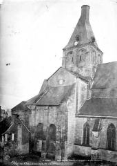 Eglise Notre-Dame la Blanche - Façade nord : transept et clocher
