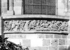 Eglise Notre-Dame la Blanche - Bas-relief de l'abside