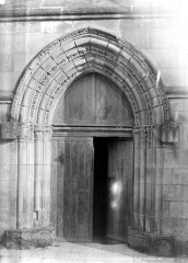 Eglise Notre-Dame la Blanche - Portail de la façade nord