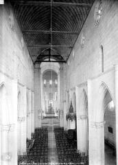 Eglise Notre-Dame la Blanche - Vue intérieure de la nef prise de la tribune