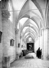 Eglise Notre-Dame la Blanche - Vue intérieure du bas-côté sud, vers l'ouest