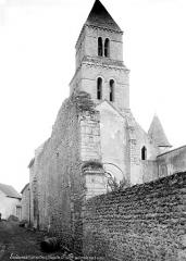 Eglise Saint-Lubin - Ensemble nord-ouest