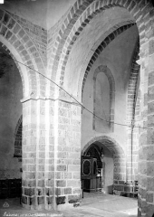 Eglise Saint-Lubin - Vue intérieure de la nef