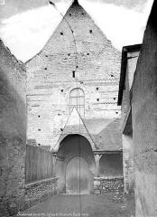 Eglise Saint-Christophe - Façade ouest