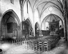 Eglise Saint-Pierre-aux-Liens - Vue intérieure de la nef, vers le nord-est