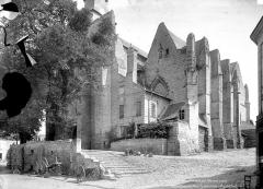 Eglise Notre-Dame-de-Nantilly - Ensemble sud-ouest