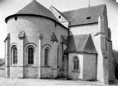 Eglise Notre-Dame-de-Nantilly - Abside et transept nord
