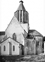 Eglise Notre-Dame - Abside et transept sud