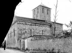 Eglise Saint-Junien de Vaussais - Ensemble nord-est