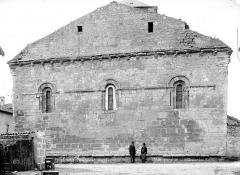 Eglise Saint-Junien de Vaussais - Façade est