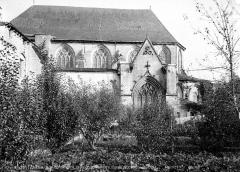 Eglise Saint-Pierre - Façade sud : partie est