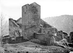 Abbaye de Serrabona - Eglise : ensemble nord-ouest