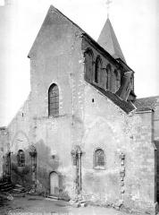 Eglise Saint-Jacques-et-Saint-Cyr - Façade ouest