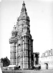 Ancienne église abbatiale - Tour clocher