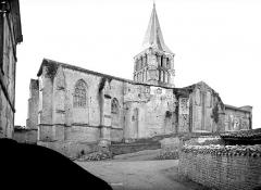 Eglise abbatiale Saint-Amand - Ensemble nord