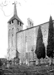 Ancienne abbaye - Eglise : façade sud
