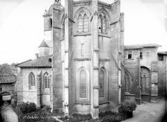 Ancienne abbaye, actuellement hôtel de ville - Eglise : Abside