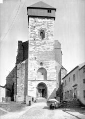 Ancienne cathédrale Notre-Dame - Façade ouest
