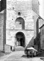 Ancienne cathédrale Notre-Dame - Façade ouest : partie inférieure