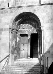 Ancienne cathédrale Notre-Dame - Portail de la façade ouest