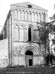 Eglise de Châtres - Façade ouest