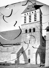 Eglise Saint-Theudère - Clocher, côté sud