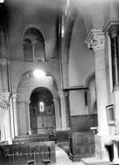 Eglise Saint-Theudère - Vue intérieure du bas-côté nord