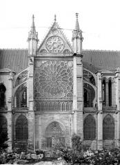 Basilique Saint-Denis - Façade nord : Transept