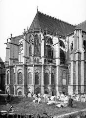 Basilique Saint-Denis - Abside, côté nord-est