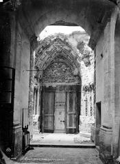 Basilique Saint-Denis - Portail de la façade sud
